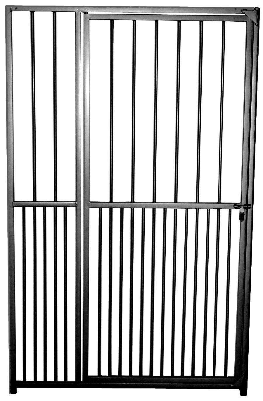 Colour universal Rohrstabelement mit Tür 1,6 x 1,0 m, schwarz