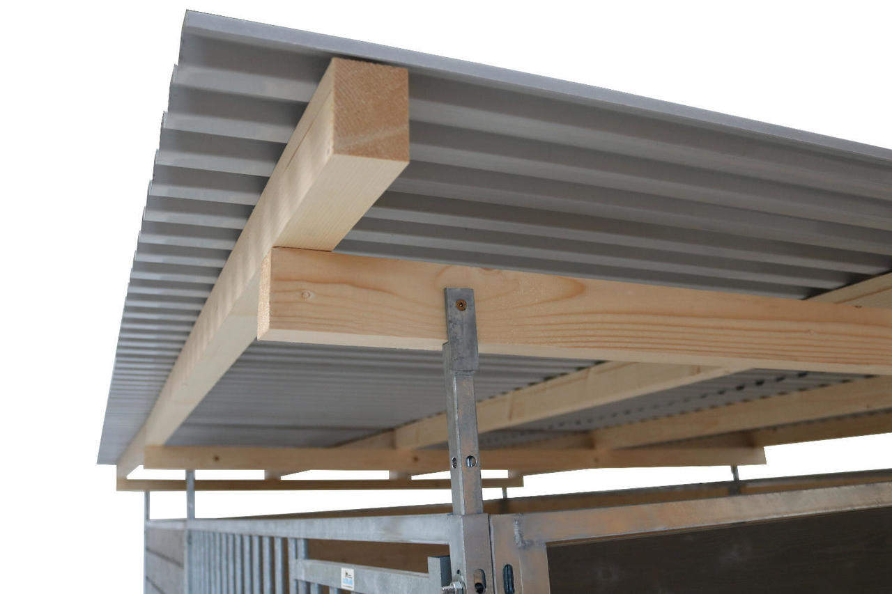 Detailansicht Dachkonstruktion