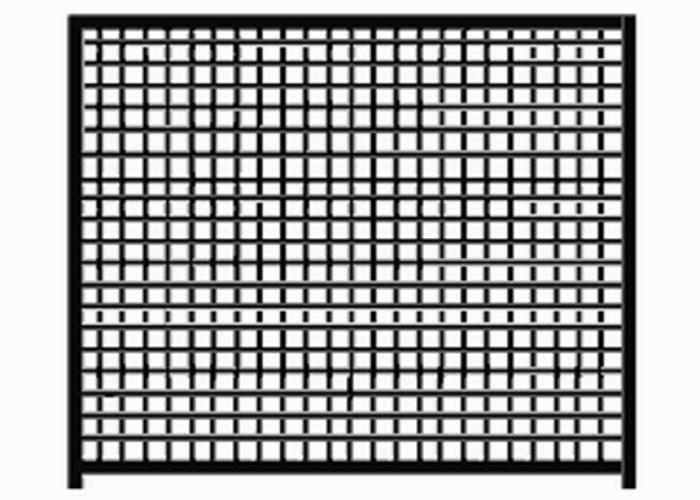 Hundezwinger Gitter-Elemente Home  1,8 x 1,0 m