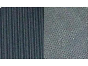 Gummimatte 3 mm massiv schwarz, 10 m Rollenware, 100 cm breit