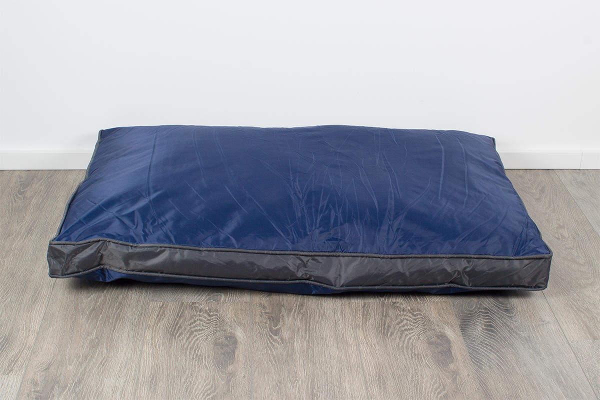 Hunde-Outdoorkissen 105 x 67 cm, wasserdicht und robust, blau