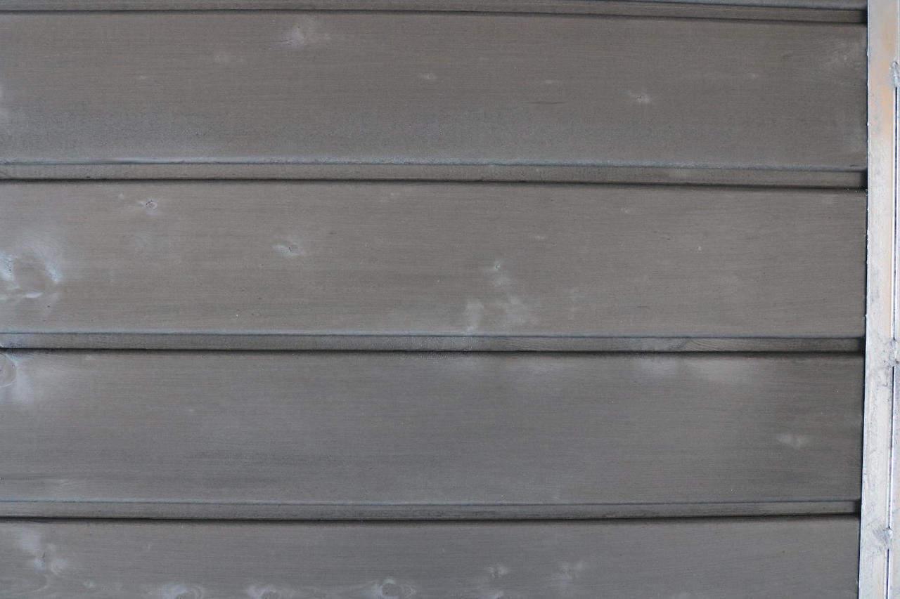Detailansicht Wandaußenseite in Graphitgrau