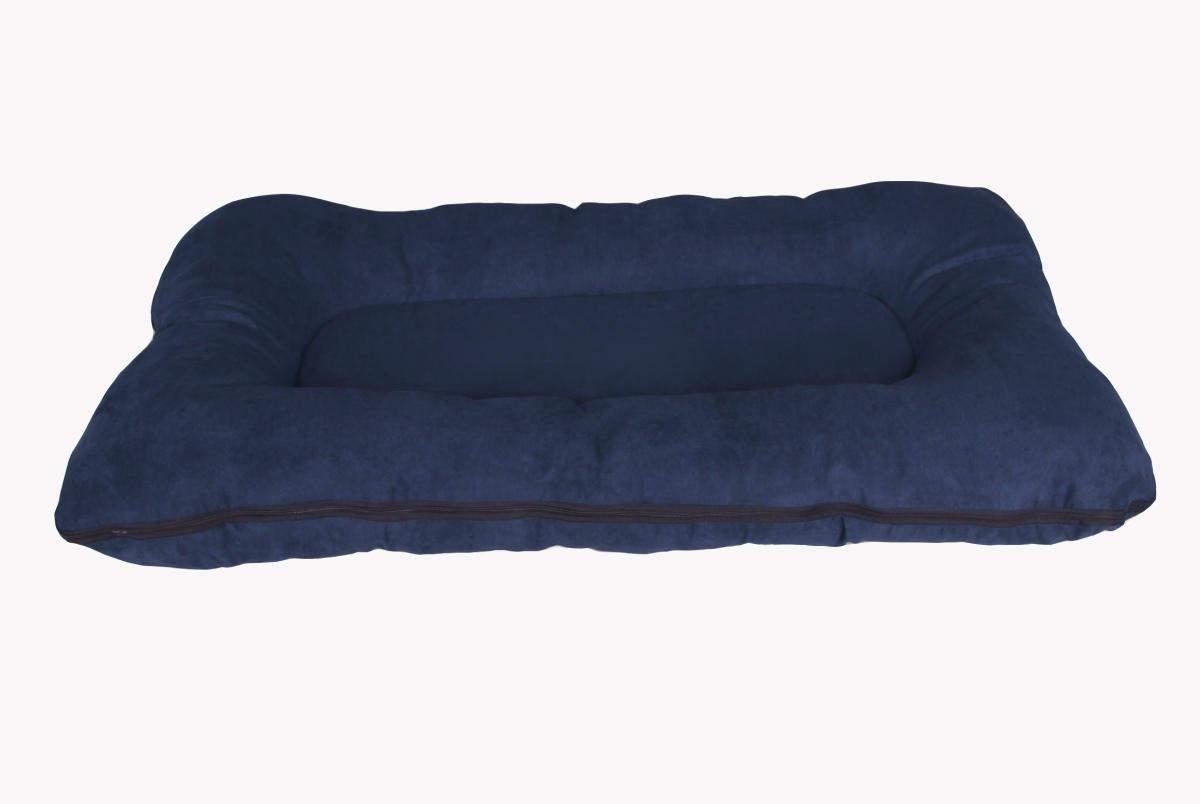Hundebett / Hundekissen XXL 120x80 cm, dunkelblau