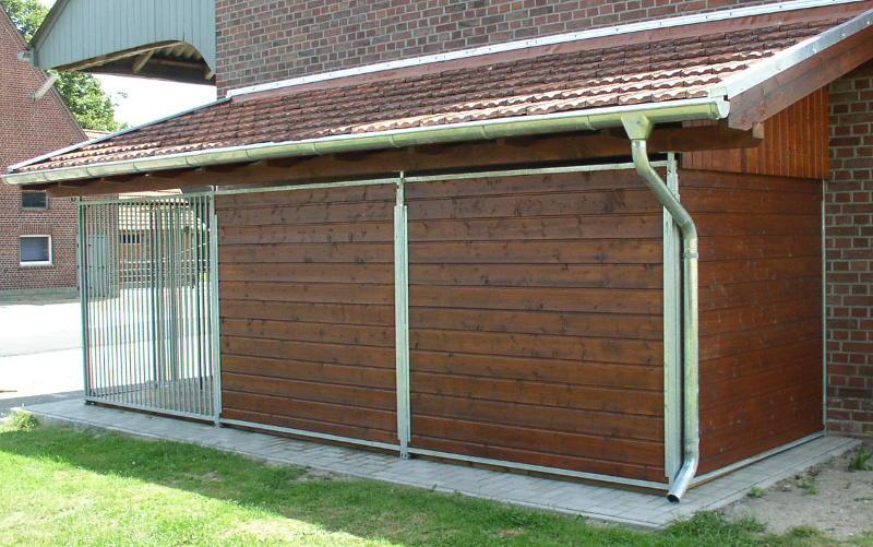 Hundezwinger Holz-Element Home 1,8 x 2 m