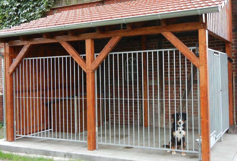 Hundezwinger Rohrstabelement Preisstar, 1,84 x 1,5 m   Rohrabstand 8 cm