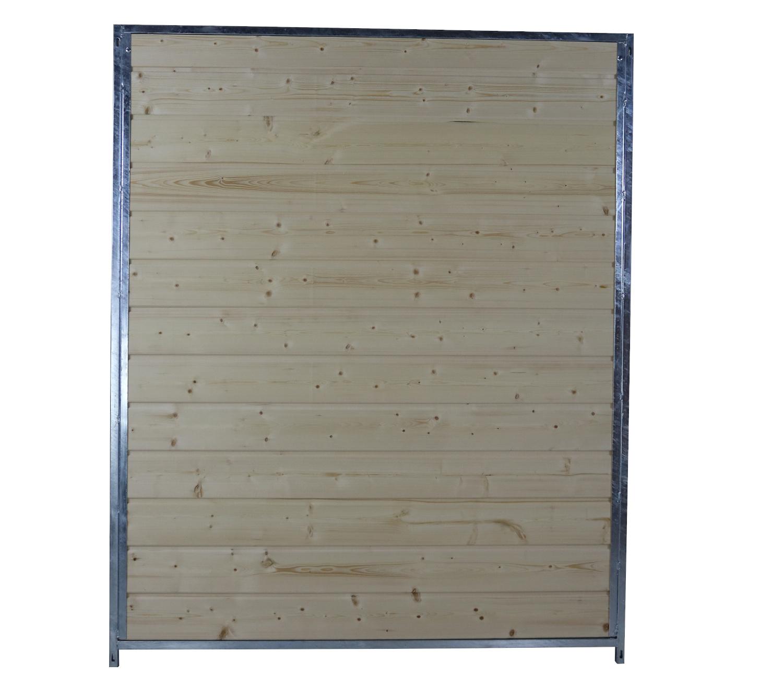 Hundezwinger Holzelement Sonderserie 1,84 x 1,5 m | naturbelassen