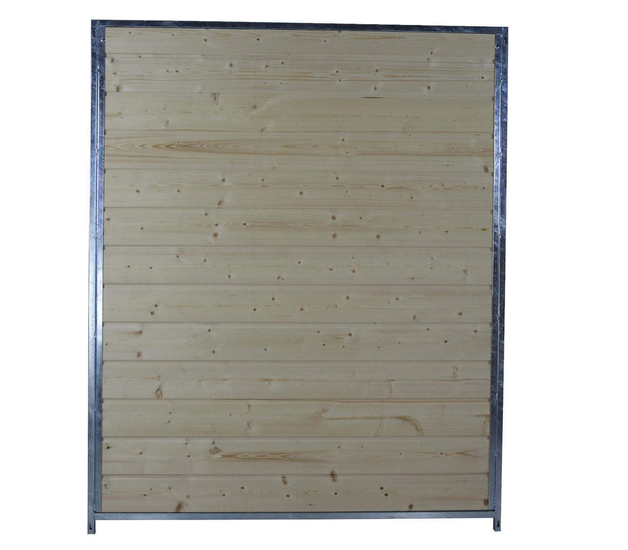 Sonderserie Holzelement B 150 cm mit Metallrahmen, naturbelassen
