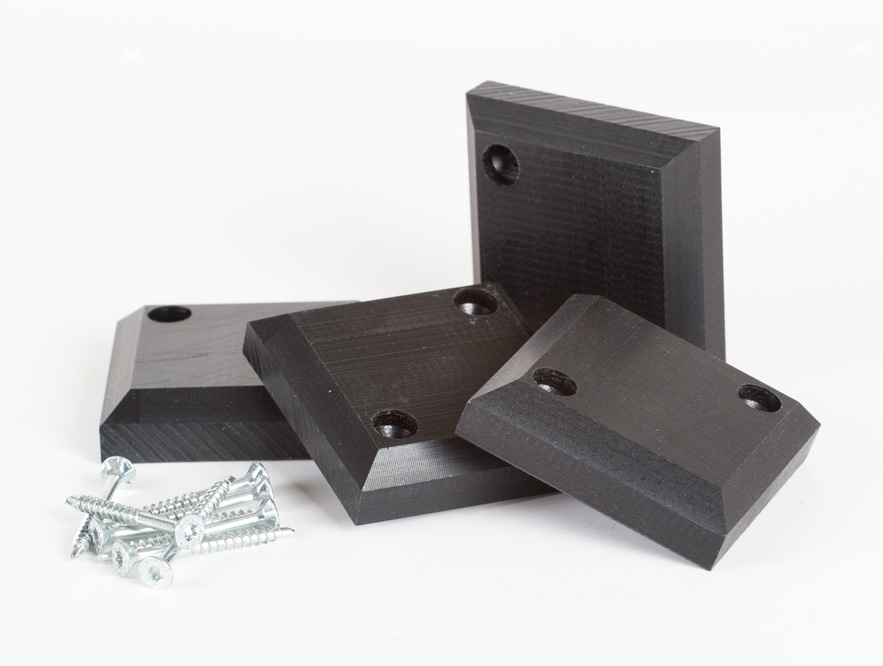 Kunststoff-Abstandhalter für Liegerost - 8 Stück
