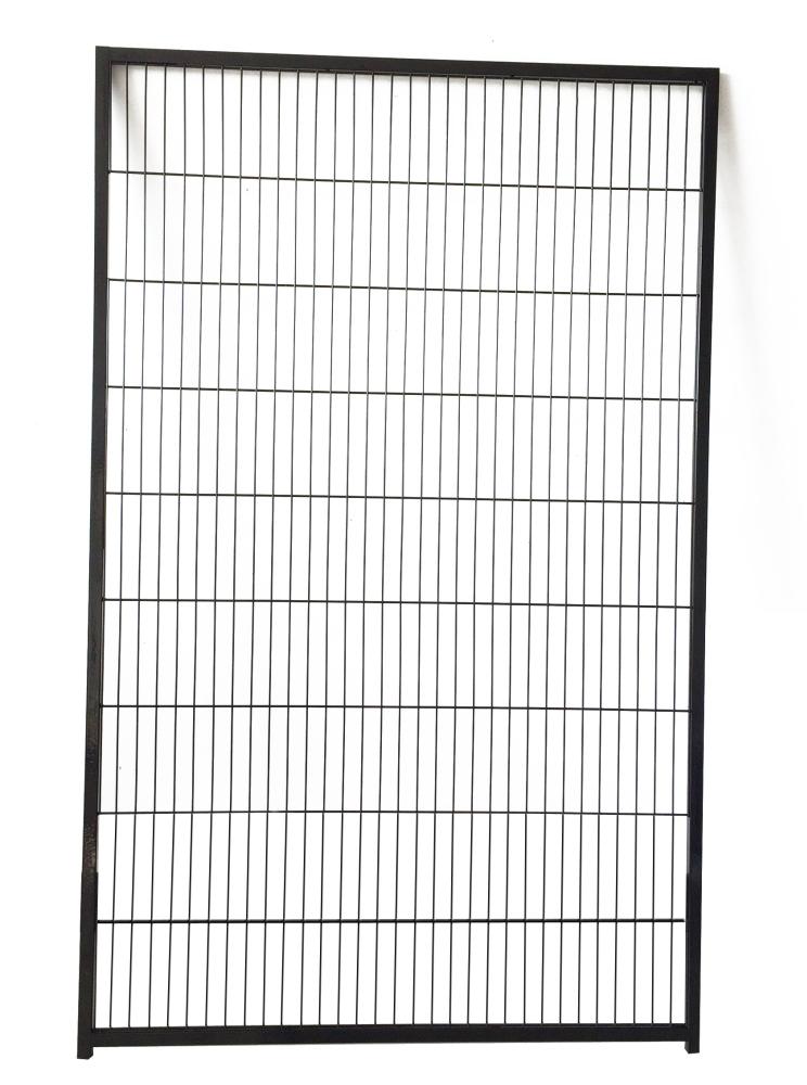 Colour Hundezwinger-Gitterelement 1,6 x 1,0 m, schwarz