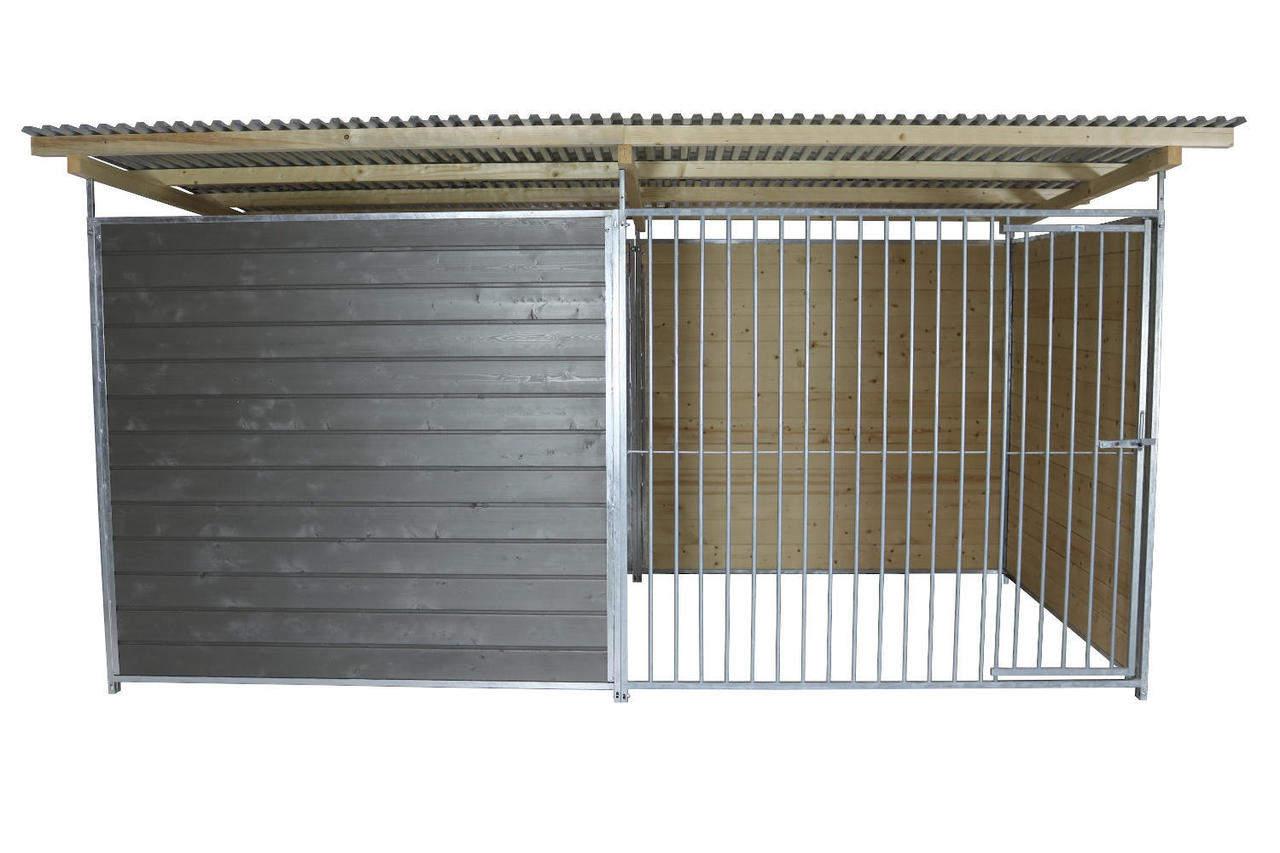 Sonderserie Schutzzwinger 2x4m in Graphitgrau