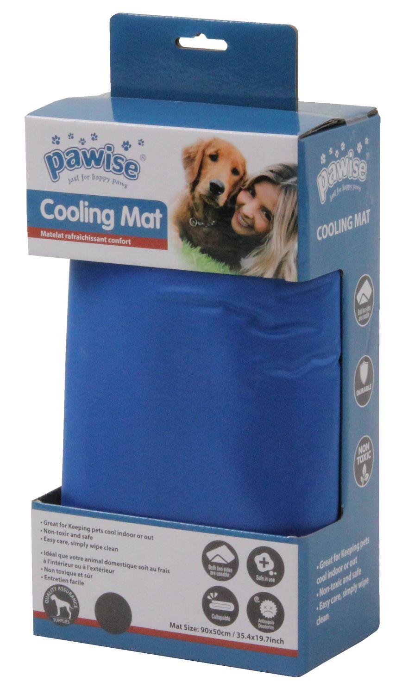 Pawise COOLING MAT Kühlmatte für Hunde Gr. L (90 x 50 cm), blau