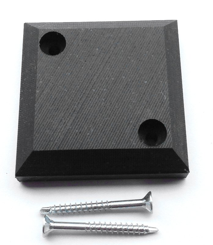 Kunststoff-Abstandhalter für Liegerost - 4 Stück