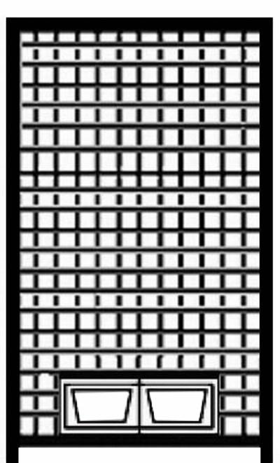 Hundezwinger Gitter-Element Home mit Futterset, 1,8 x 1,0 m